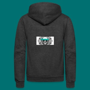 Lost in Fate Design #2 - Unisex Fleece Zip Hoodie by American Apparel