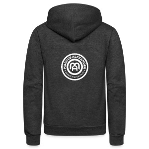 Marcus Alexander Official Logo - Unisex Fleece Zip Hoodie