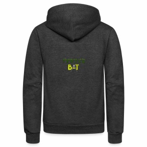 New Trojan Bat Logo - Unisex Fleece Zip Hoodie