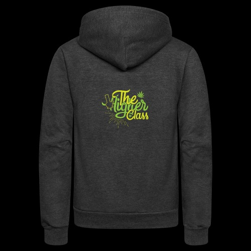 the higher class 2 - Unisex Fleece Zip Hoodie