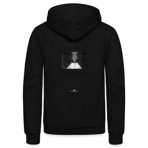 'Ancient Information' - Unisex Fleece Zip Hoodie