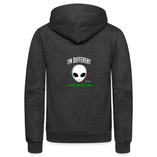 I'm different - Unisex Fleece Zip Hoodie