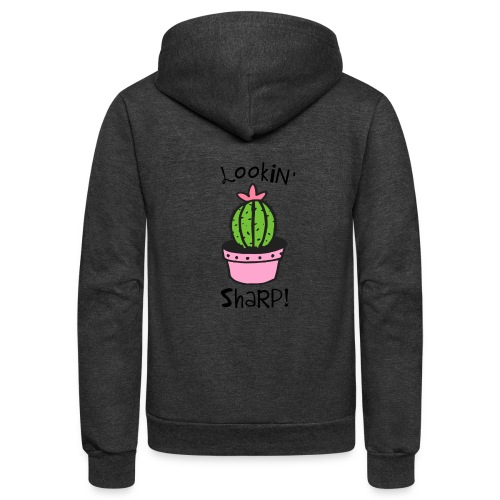 Lookin' Sharp - Unisex Fleece Zip Hoodie