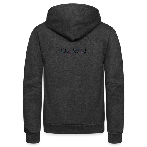 My YouTube Watermark - Unisex Fleece Zip Hoodie