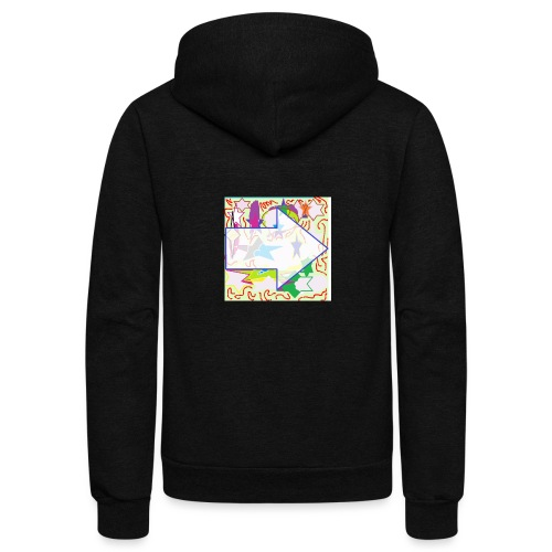 shapes - Unisex Fleece Zip Hoodie
