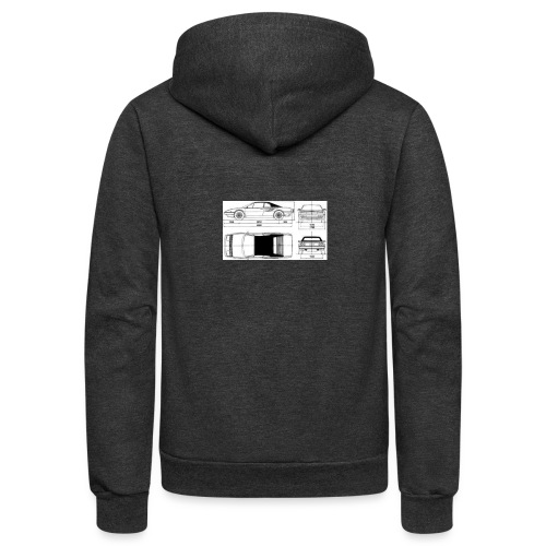 artists rendering - Unisex Fleece Zip Hoodie