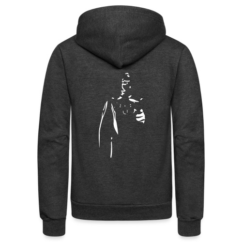 Rubber Man Wants You! - Unisex Fleece Zip Hoodie