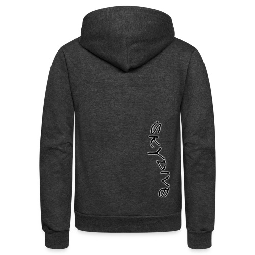 Skydive/BookSkydive/Perfect Gift - Unisex Fleece Zip Hoodie