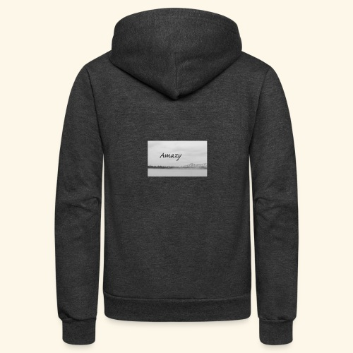 bridge - Unisex Fleece Zip Hoodie