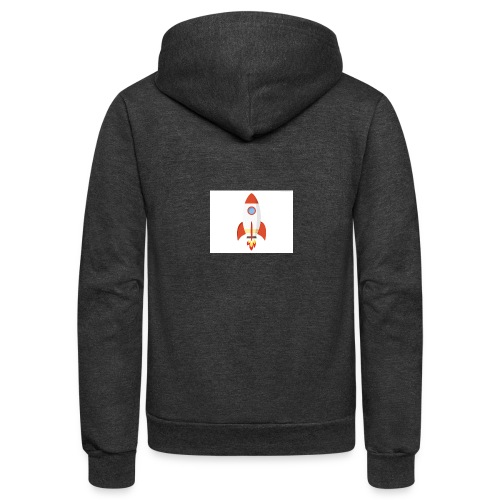 rocket t - Unisex Fleece Zip Hoodie