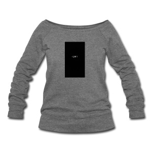 CJMIX case - Women's Wideneck Sweatshirt