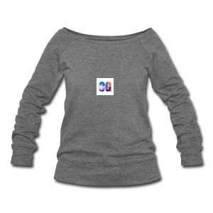CG_Logo - Women's Wideneck Sweatshirt