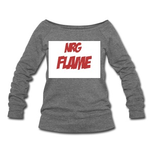 Flame For KIds - Women's Wideneck Sweatshirt