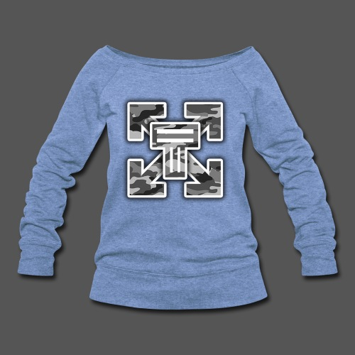 TP Army - Women's Wideneck Sweatshirt