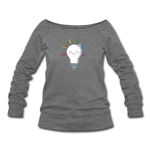 Lighten Up - Women's Wideneck Sweatshirt
