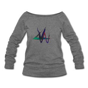 Variance Just the logo - Women's Wideneck Sweatshirt