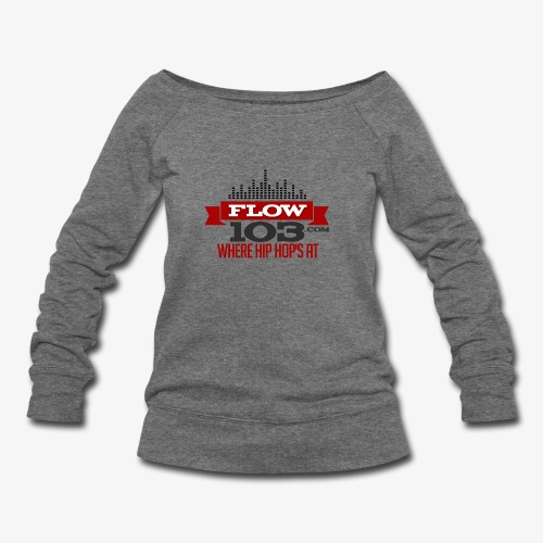 FLOW 103 - Women's Wideneck Sweatshirt