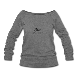 Slick Clothing - Women's Wideneck Sweatshirt