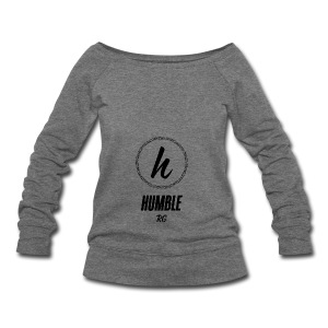 Humble - Women's Wideneck Sweatshirt