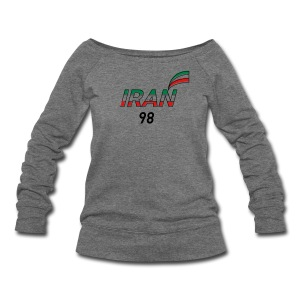 Iran's France 98 20th Anniversary Tee - Women's Wideneck Sweatshirt