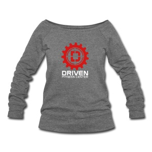 Stacked Logo - Women's Wideneck Sweatshirt