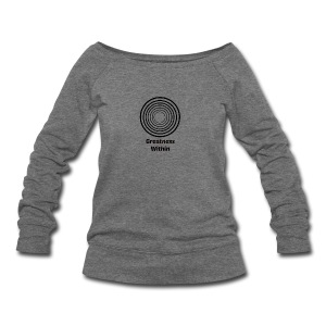 Greatness Within - Women's Wideneck Sweatshirt