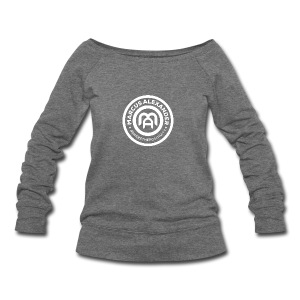 Marcus Alexander Official Logo - Women's Wideneck Sweatshirt