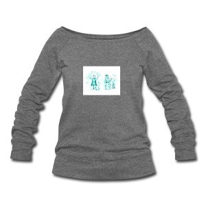 TEST DESIGN - Women's Wideneck Sweatshirt