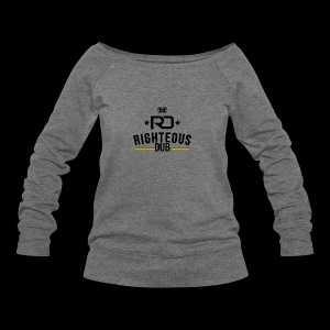 Righteous Dub Logo - Women's Wideneck Sweatshirt
