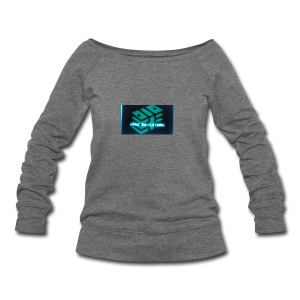 Grind Big Clothing - Women's Wideneck Sweatshirt