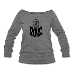 ROKC ALTERNATE LOGO - Women's Wideneck Sweatshirt