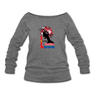 Spring Season Tshirt - Women's Wideneck Sweatshirt