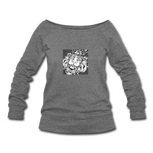 tumblr_nov0ugx1uI1tpz8uco1_1280 - Women's Wideneck Sweatshirt