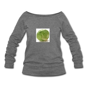 CabbageTexts Streetwear - Women's Wideneck Sweatshirt
