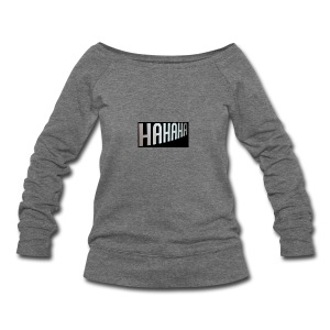 mecrh - Women's Wideneck Sweatshirt