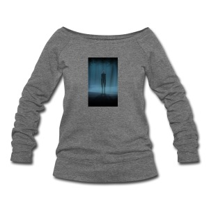Creepy Forest Person - Women's Wideneck Sweatshirt