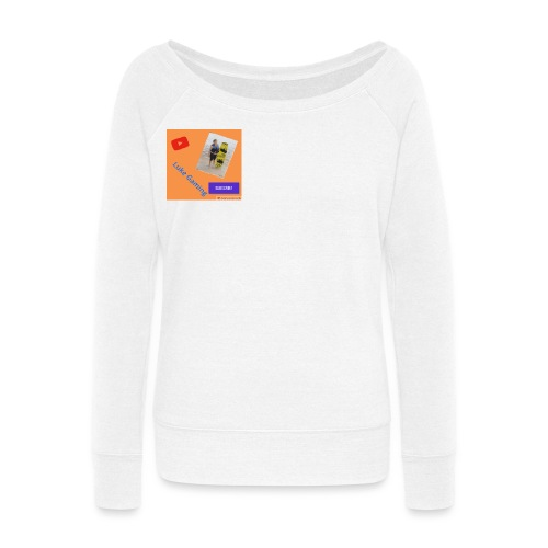 Luke Gaming T-Shirt - Women's Wideneck Sweatshirt