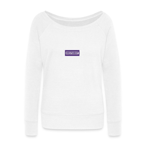 Westurnt - Women's Wideneck Sweatshirt