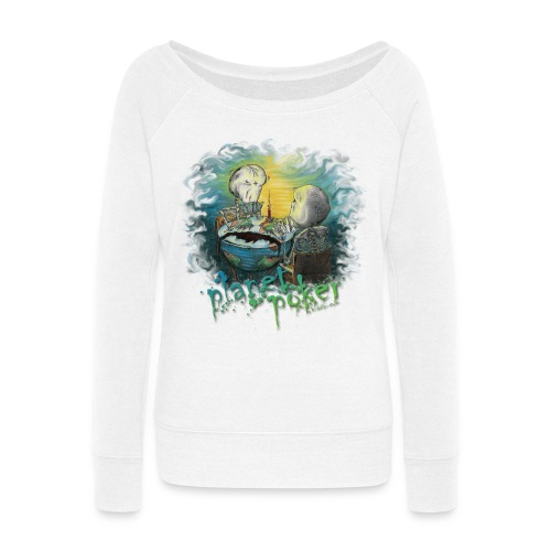 planet poker - Women's Wideneck Sweatshirt