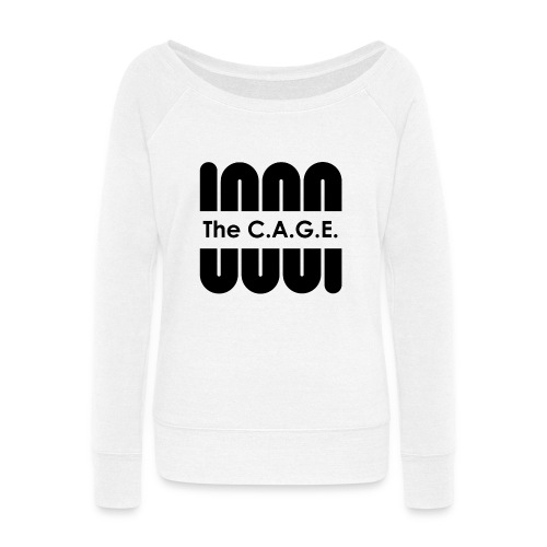 Coil black png - Women's Wideneck Sweatshirt