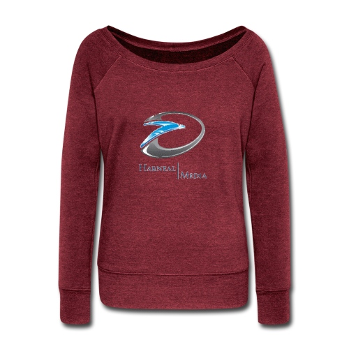 Harneal Media Logo Products - Women's Wideneck Sweatshirt