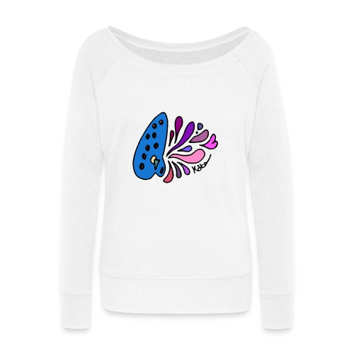 Mystical Ocarina - Women's Wideneck Sweatshirt