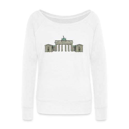 Brandenburg Gate Berlin - Women's Wideneck Sweatshirt