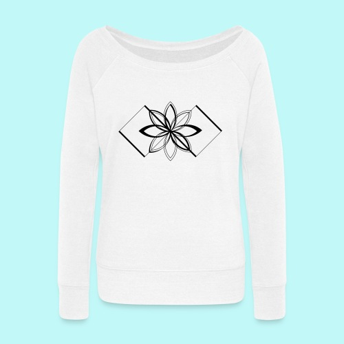 Colour Me DAIZEY Yellow - Women's Wideneck Sweatshirt