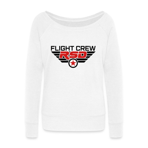 RSD Flight Crew - Women's Wideneck Sweatshirt