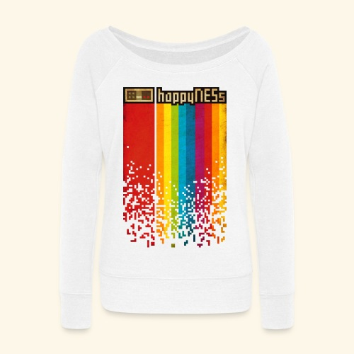 happyNESs - Women's Wideneck Sweatshirt