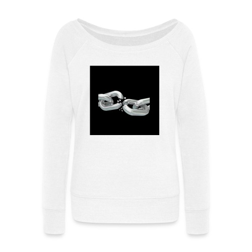 break the chains - Women's Wideneck Sweatshirt