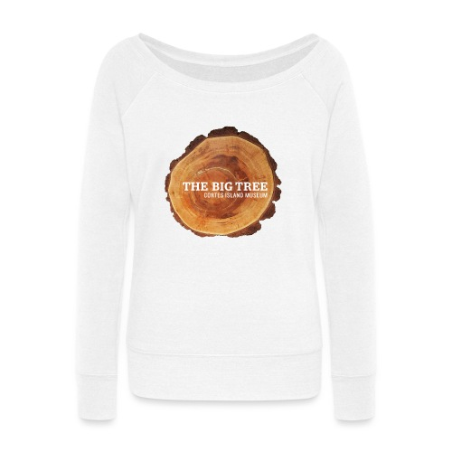 The Big Tree - Women's Wideneck Sweatshirt