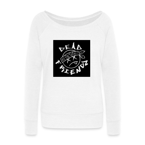 D.E.A.D FRIENDZ Records - Women's Wideneck Sweatshirt