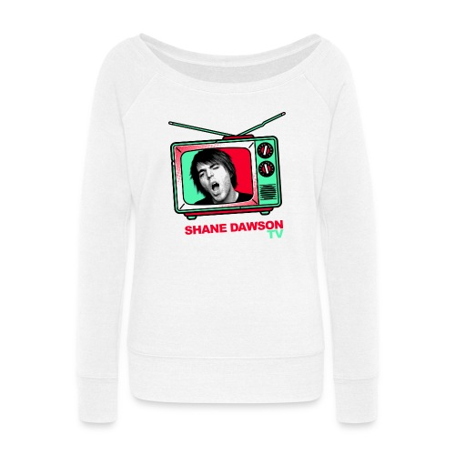 dawsontv for black shirts Shane Dawson - Women's Wideneck Sweatshirt